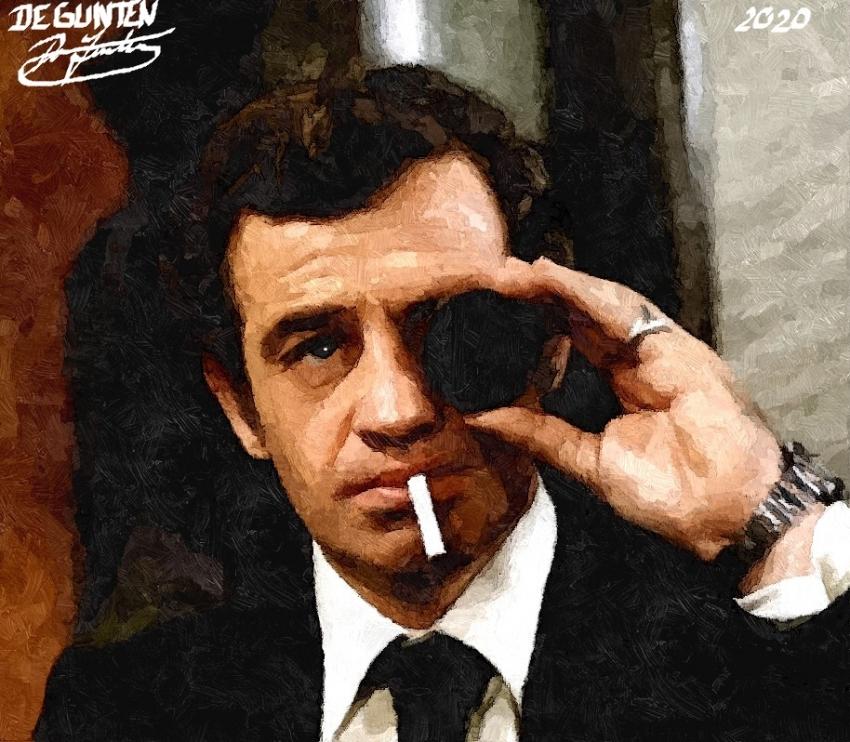 Jean-Paul Belmondo by JIM